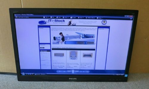 "Phillips 231S4L 231S4LCB/00  S-Line 23"" LCD TFT LED ISP Monitor VGA DVI No Stand"